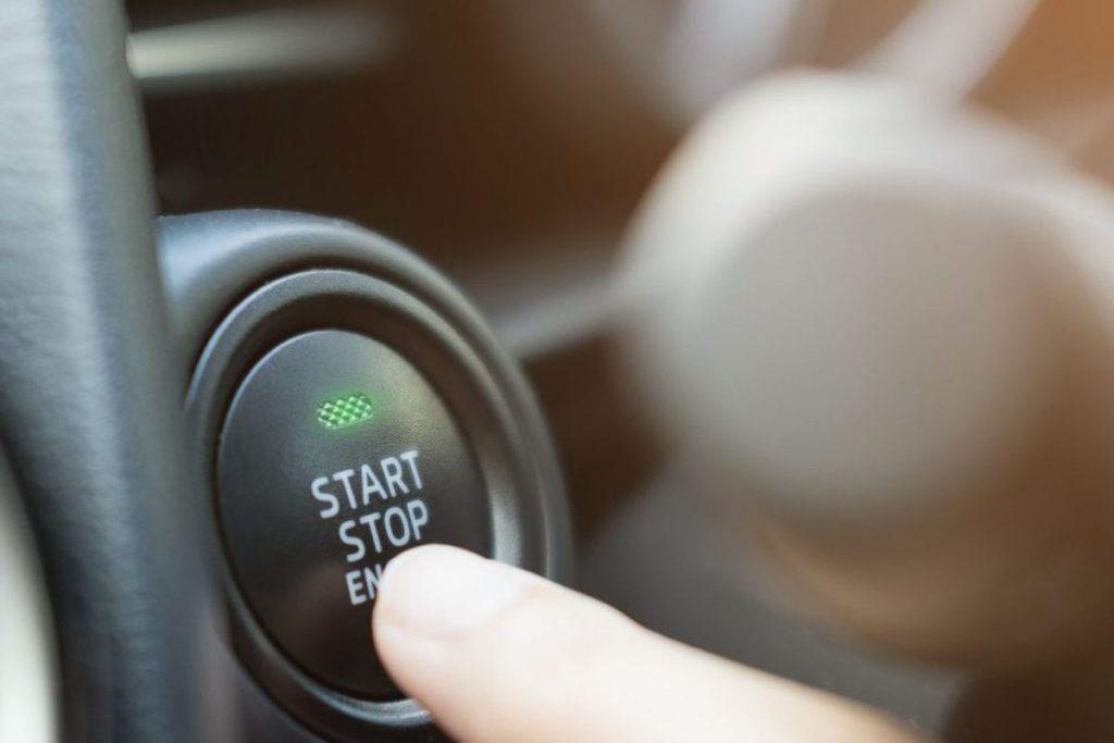 Encendido de auto sin llave
