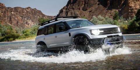 Ford Bronco 2021 offroad