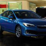 Subaru Impreza 2020 cuesta $100USD más, obtiene 1 MPG menos