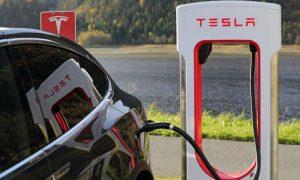 Super cargador Tesla