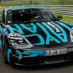 Porsche colocó al Taycan más rápido en la famosa vuelta de Nüburgring