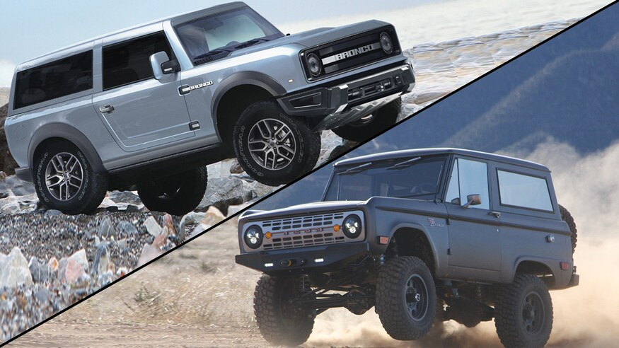 Ford Bronco y Icon Bronco 2021