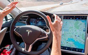 Tesla conducción automática