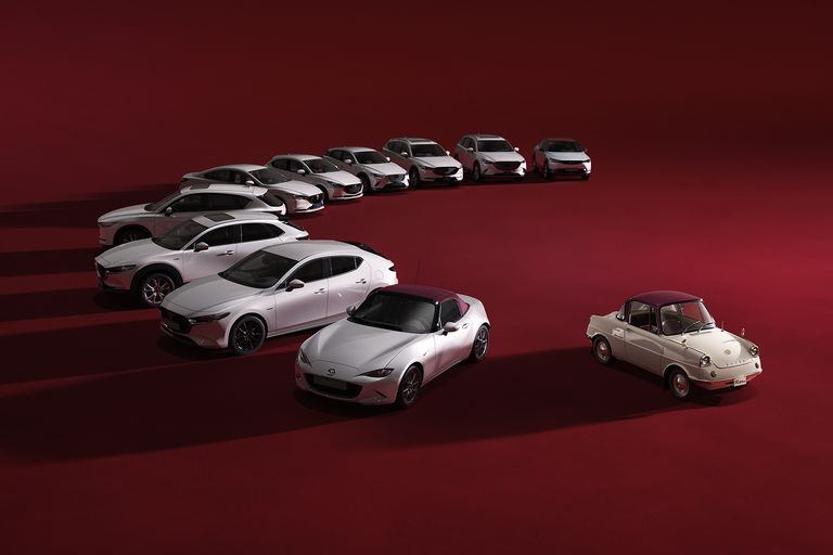 Las ediciones del centenario cubrirán toda la gama Mazda