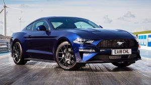 Mustang cuatro cilindros