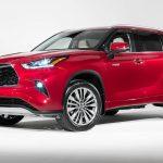 Toyota Highlander 2020 se muestra antes de su debut oficial