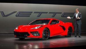 Corvette C8 2020 en su presentación