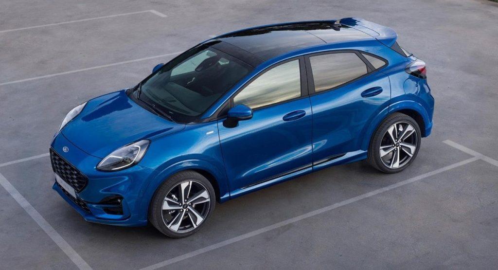Ford Puma 2020 azul