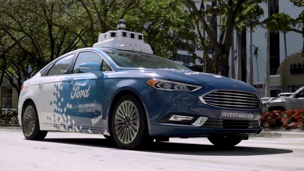 Auto autónomo de Argo AI