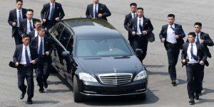 Limosina Mercedes Pullman de Kim Jong Un
