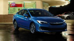 Subaru Impreza 2020 azul
