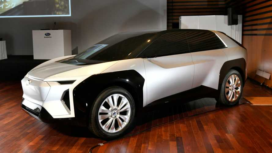 Crossover eléctrico concepto de Subaru y Toyota