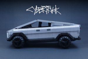 Lego Cybertruck, idea de producción