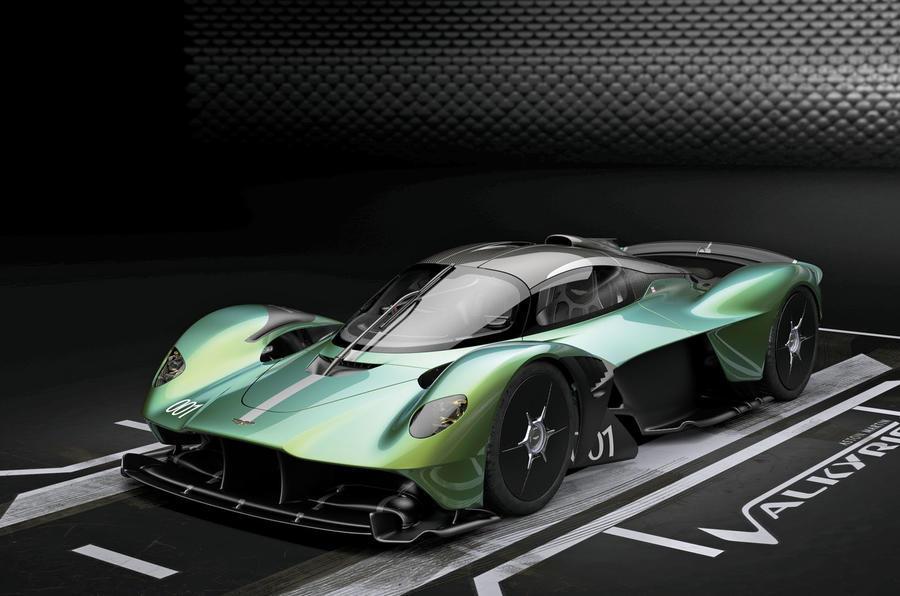 Aston Martin Valkyrie prototipo para Le Mans cancelado
