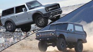 Ford Bronco y Icon Bronco 2021