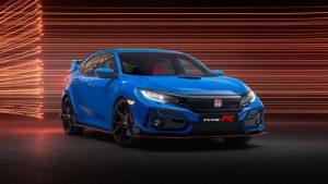 Honda Civic Type R 2020 en exhibición