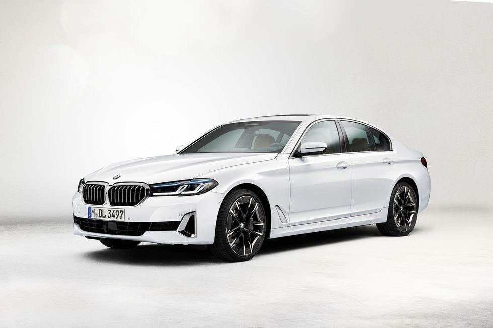 La serie 5 de BMW se actualiza para 2021 con una nueva apariencia y características adicionales