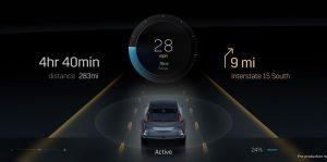 El Lyriq 2022 de Cadillac tendrá una pantalla de 33 pulgadas que abarca la mayor parte del tablero